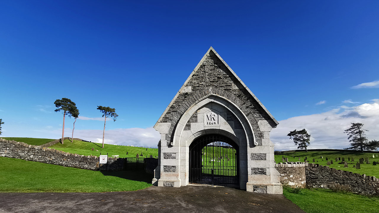 The Curragh Military Cemetery, County Kildare
