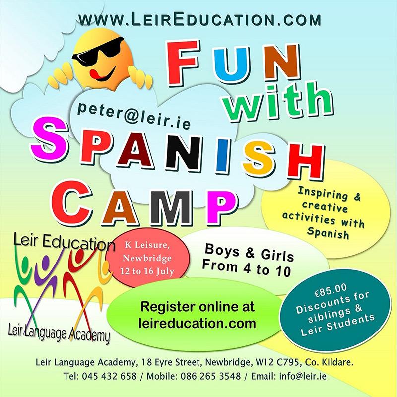 Leir Education Spanish Summer Camp 2021