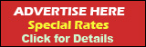 Advertise Here - Special Rates