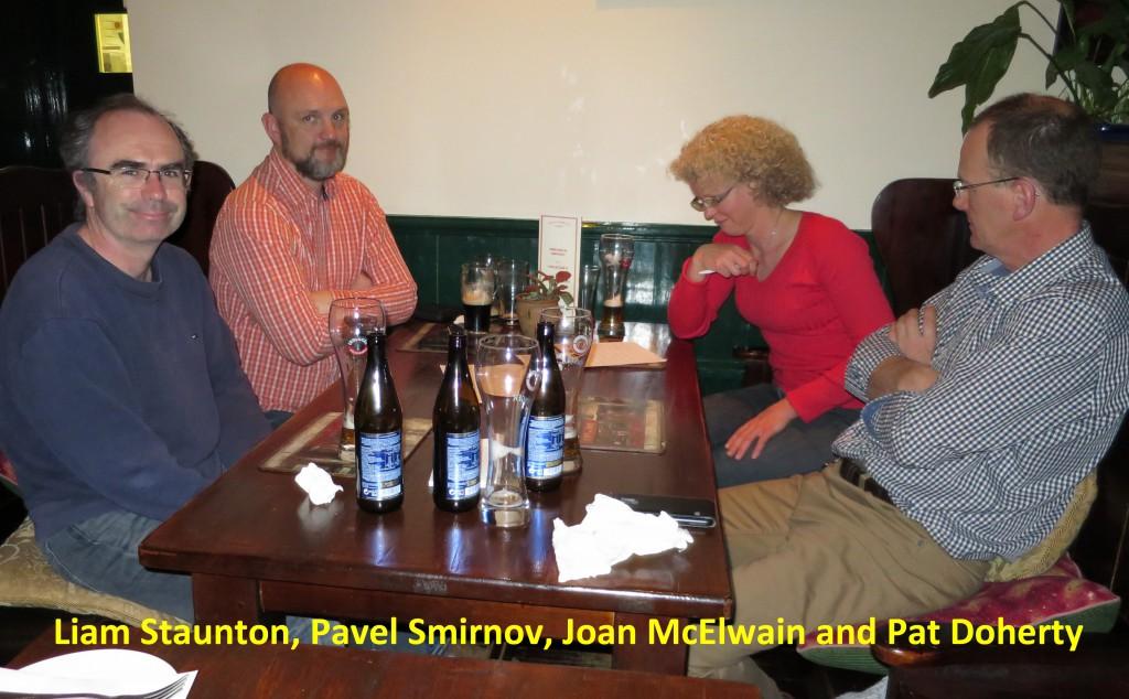 Liam, Pav, Joan, Pat