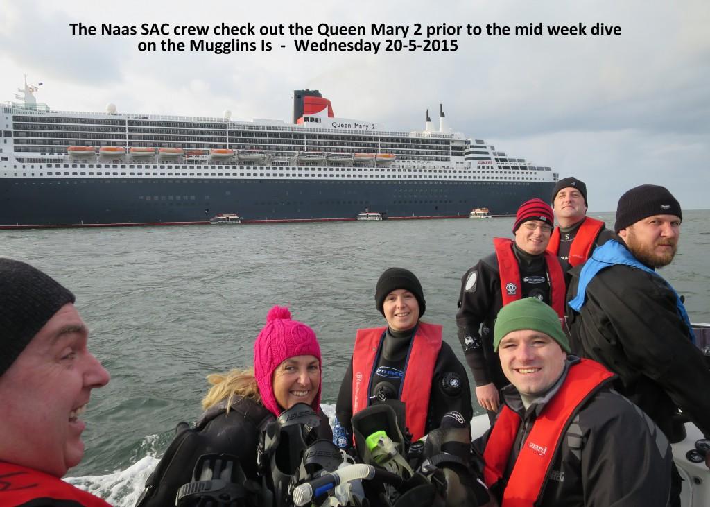 The Naas SAC Crew & Mary 2