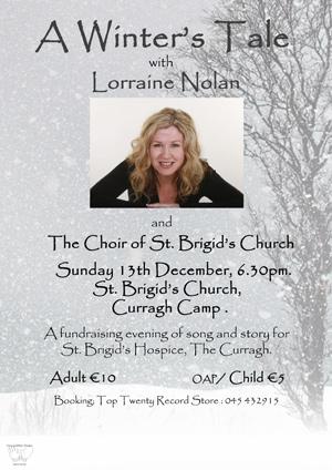 A Winters Tale with Lorraine Nolan and the St Brigids Church Choir