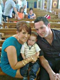 Arlene, Luke and David Renehan