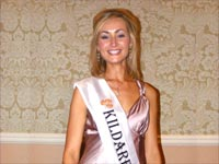 Denise Healy - Kildare Rose of Tralee 2008