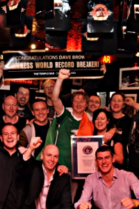 Guinness Record Breaker Dave Browne