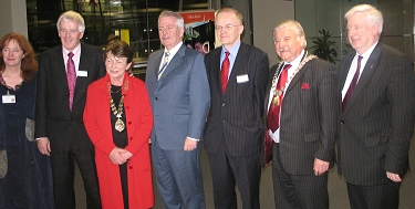 At the Launch of Kildare History and Society