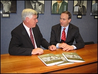 Michael Fitzpatrick and Minister Michael Martin