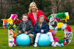 Model and National Spring Clean ambassador Sarah McGovern and twins Luke and Emily Darley (6) were today springing into action to launch An Taisce's National Spring Clean campaign. National Spring Clean volunteers from all over the country will this year be celebrating 15 years of Ireland's longest-running anti-litter programme by organising clean-ups throughout the month of April. For more information and to register for a free clean up kit, visit www.nationalspringclean.org