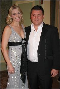 Pamela Flood with Stephen Farrell
