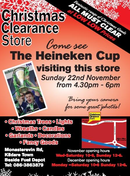 Heineken Cup comes to Kildare
