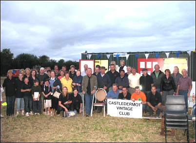 Castledermot Vintage Club members and volunteers 2009