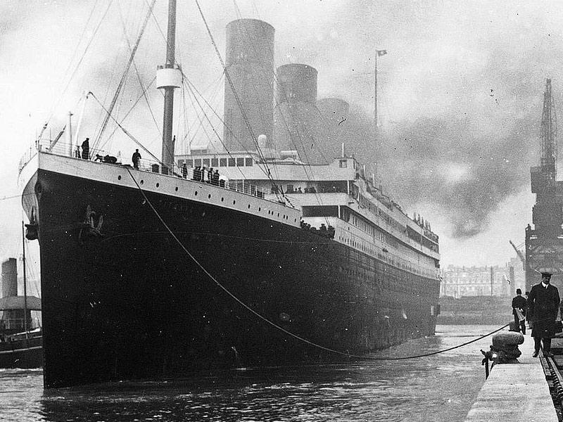 Kildare People Aboard the Titanic