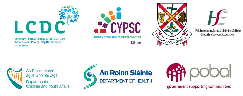 Healthy Ireland Week supported by Kildare LCDC, Kildare County Council, CYPSC, HSE, Dept of Children and Youth Affairs, Dept of Health and Pobal