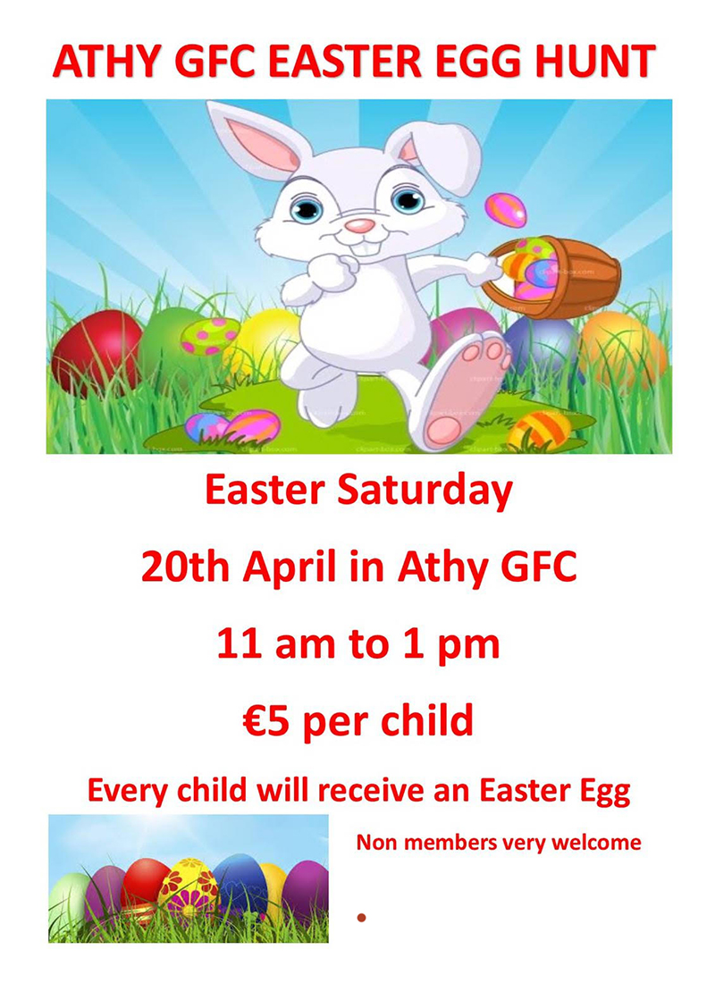 Athy GFC Easter Egg Hunt