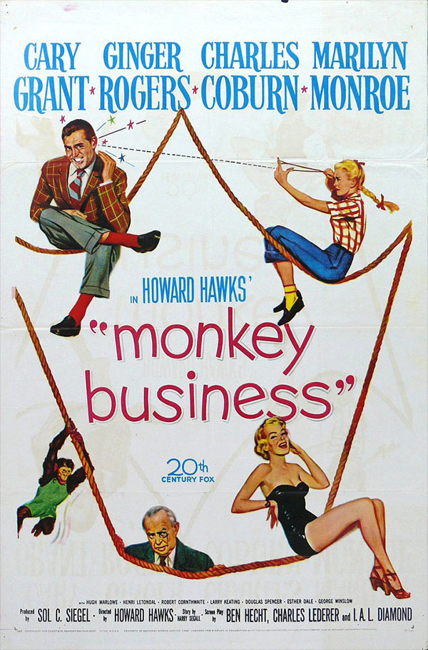 Film: Monkey Business (1952)