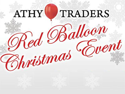 Athy Christmas Red Balloon Event