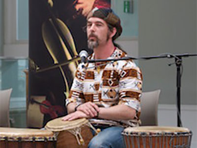 African Drumming Workshop with Dave Day