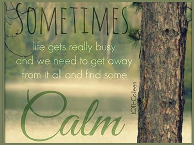 Living Mindfully ~ inner calm