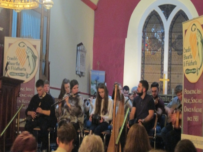Traditional Irish Culture at St Mary's Church