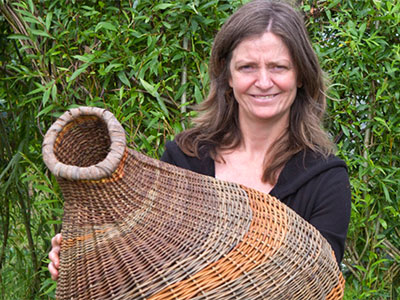 Traditional Skills Week Willow Weaving with Beth Murphy