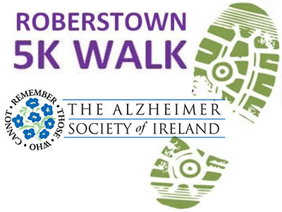 Kildare Branch Alzheimers Society of Ireland 17th Annual Walk