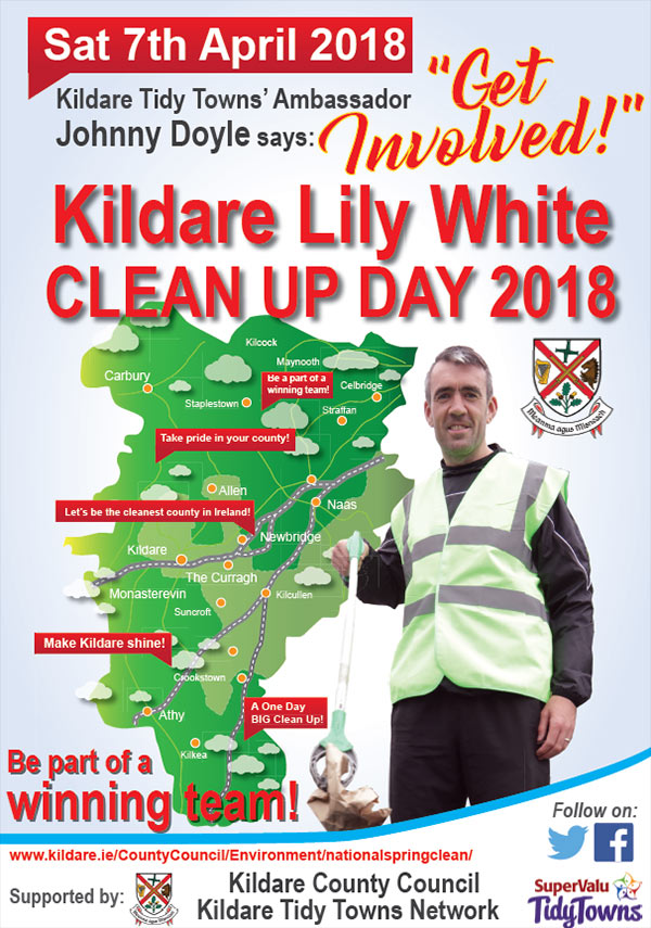 Kildare Lily White CLEAN UP DAY 2018