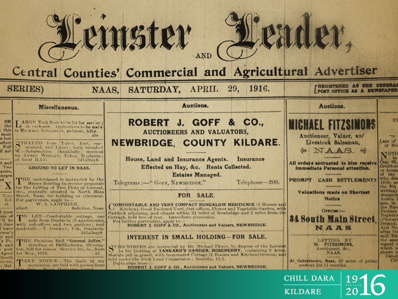 Launch of Two Booklets - Revolutionary Kildare