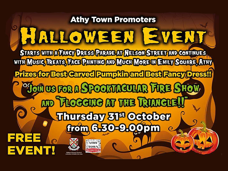 Athy Halloween Event Details