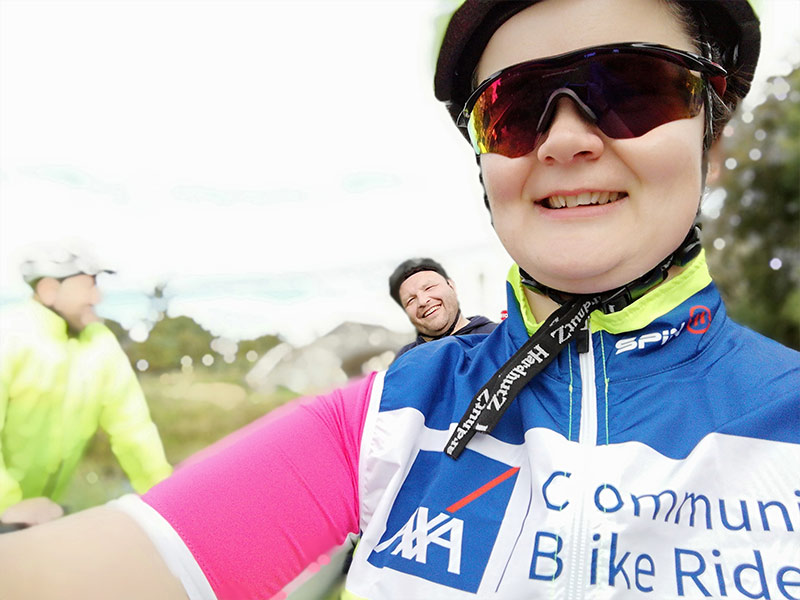 Axa Community Bike Ride