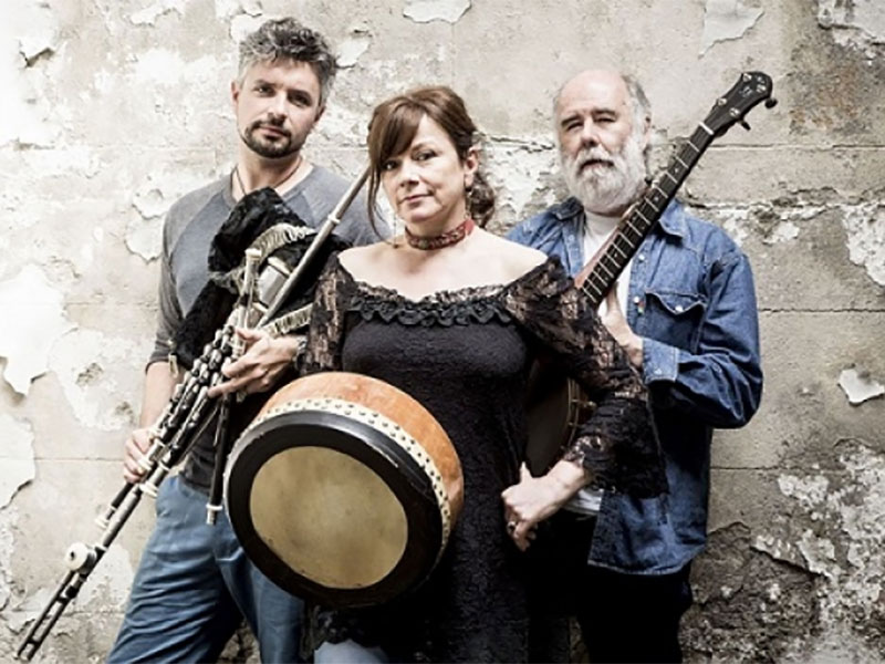 Cathy Jordan, Jarlath Henderson, and Mick Daly