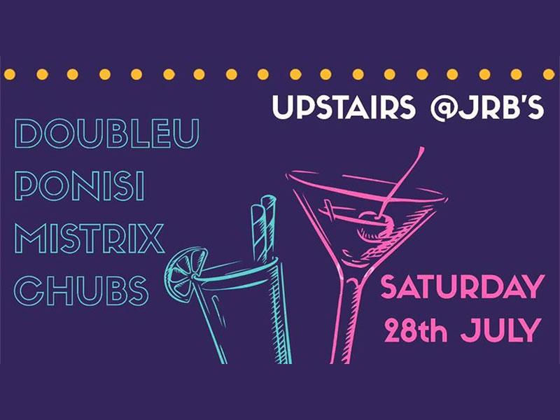 Equilibrium Presents Doubleu - Upstairs at JRB's
