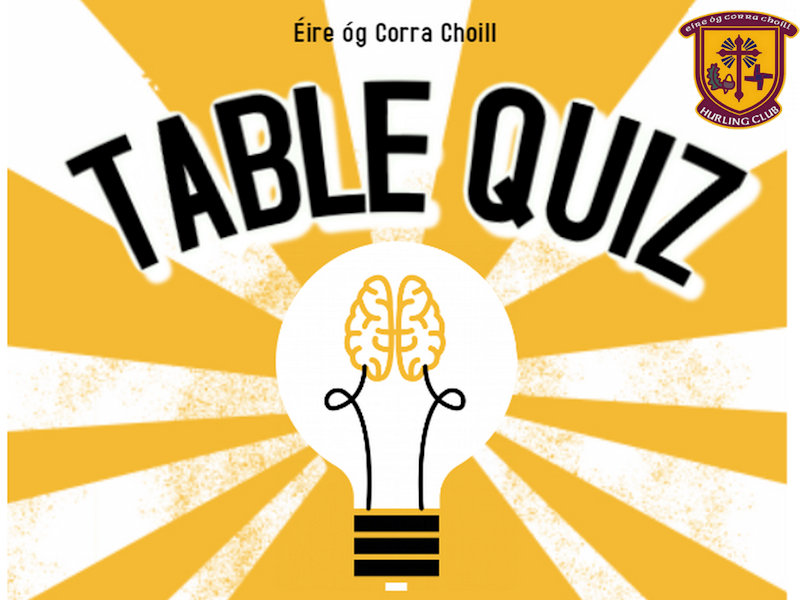 Table Quiz in Caragh