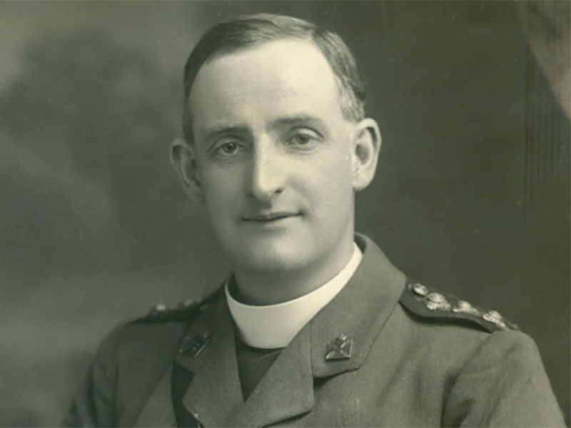 Jesuit Chaplains in World War One