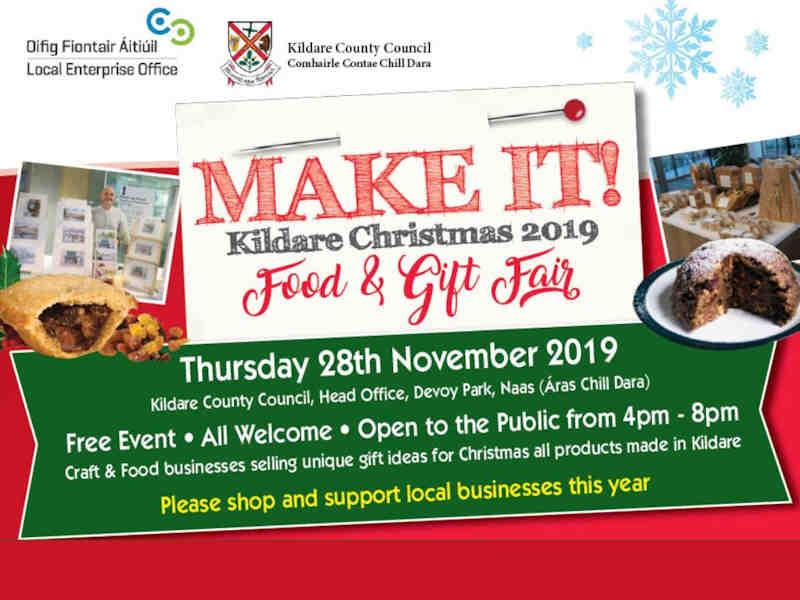 Make It Kildare Christmas 2019 Food and Gift Fair