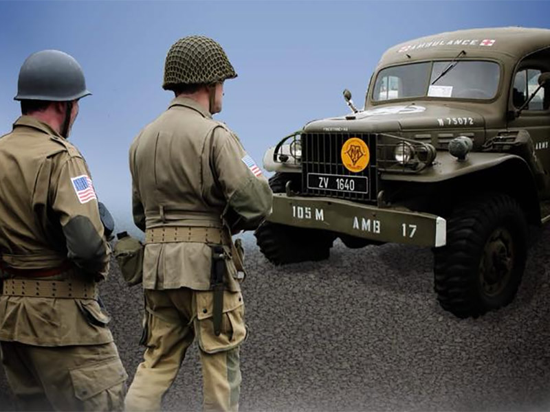 MILITARY VEHICLE AND REENACTMENT SHOW