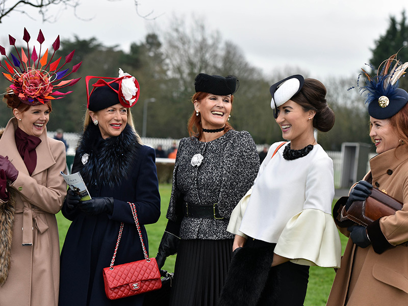 Winter Ladies Day at Naas Racecourse