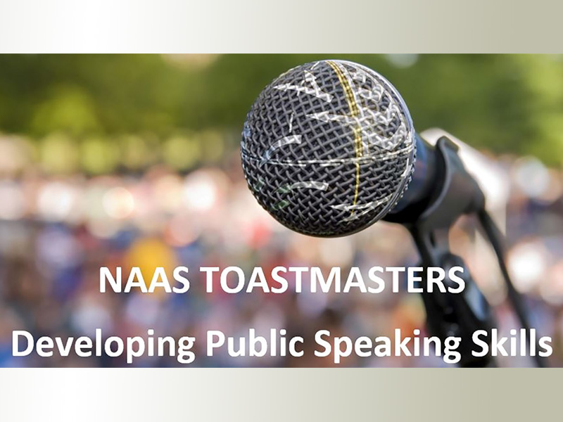 Naas Toastmasters Open Night