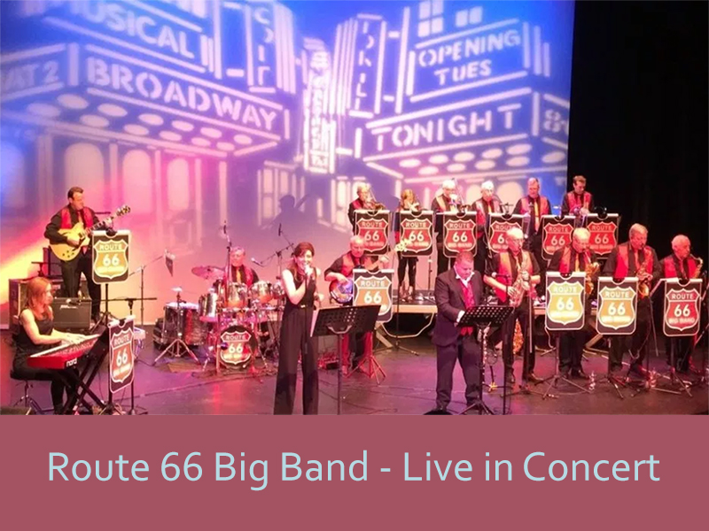 Route 66 Big Band - Live in Concert