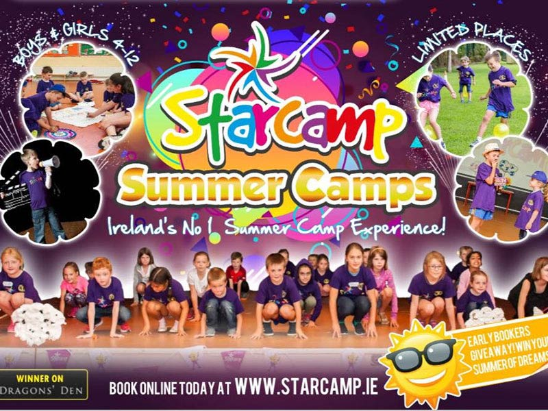 StarCamp Athy Summer Camp 2018