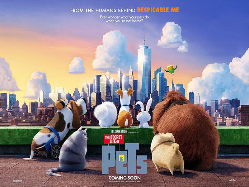 Film: The Secret Life of Pets