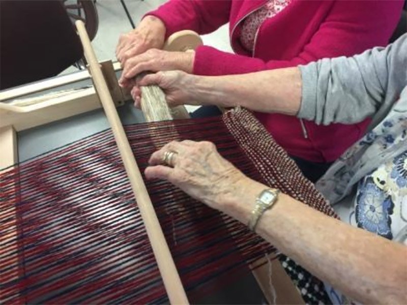 Weaving Time and Place