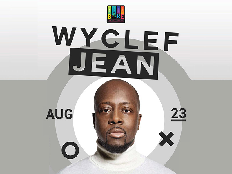 Wyclef Jean - Bare In The Woods Festival