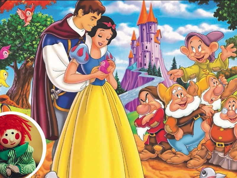 Snow White & the Seven Dwarves With BOSCO