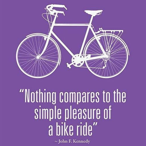 Axa Community Bike Ride JFK Quote