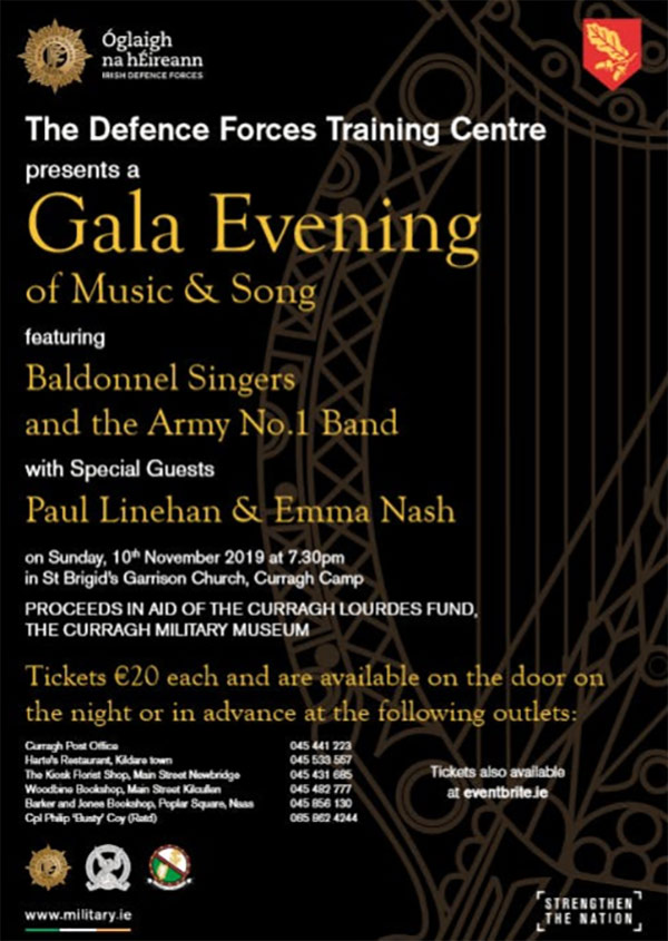 Defence Forces Training Centre GALA Evening of Music and Song
