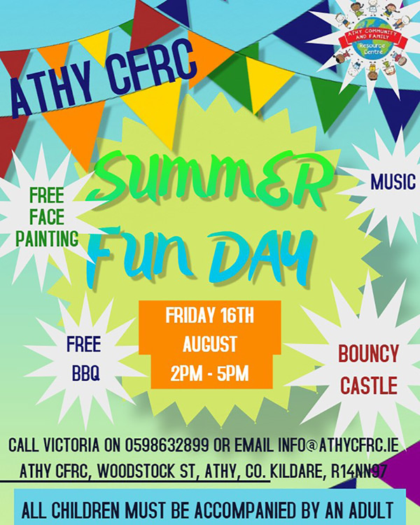 Family Fun Day at Athy Community Family Resource Centre