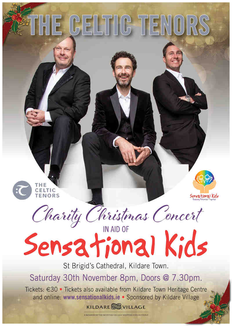 The Celtic Tenors Charity Christmas Concert
