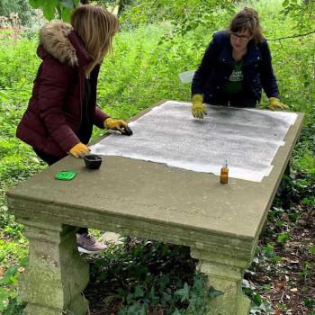 Grave Rubbing Experience at Kilkea Castle
