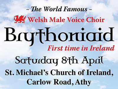The World famous Welsh Male Voice Choir