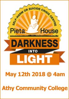 Darkness Into Light Athy
